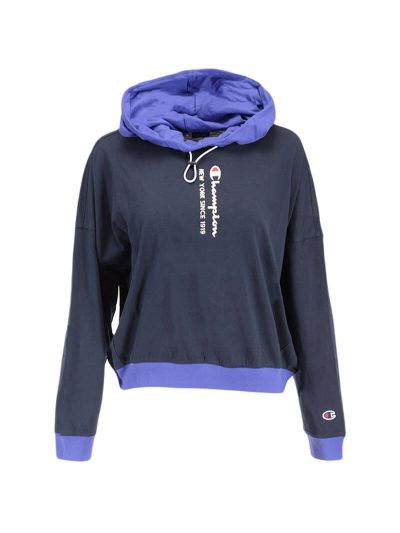 Ženski pulover s kapuco Champion® ROCHESTER ICE 113279 - moder