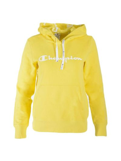 Ženski pulover s kapuco Champion® 112580 - rumen