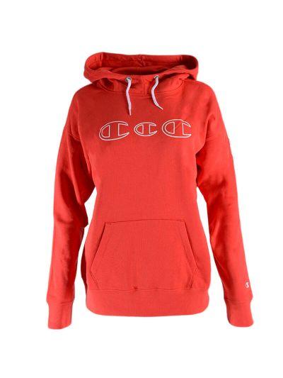 Ženski pulover s kapuco Champion® C112035 - rdeča