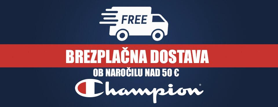 Brezplačna dostava ob naročilu nad 50 EUR