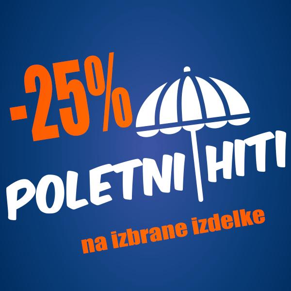 Poletni hiti -25%