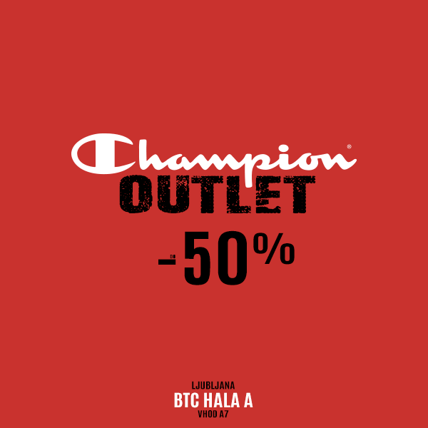 Champion Outlet, BTC Hala A, Vhod A7